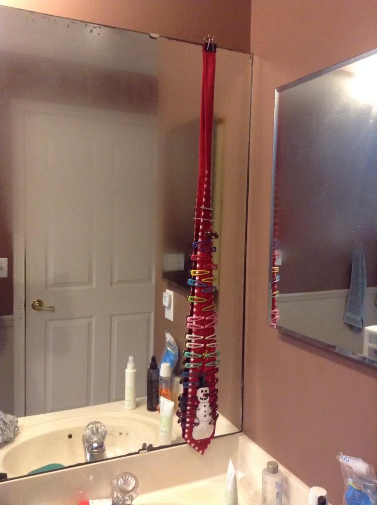 hair clip organizer