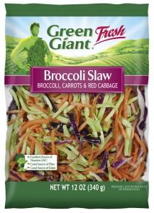 Green Giant Broccoli Slaw raw veggie blend