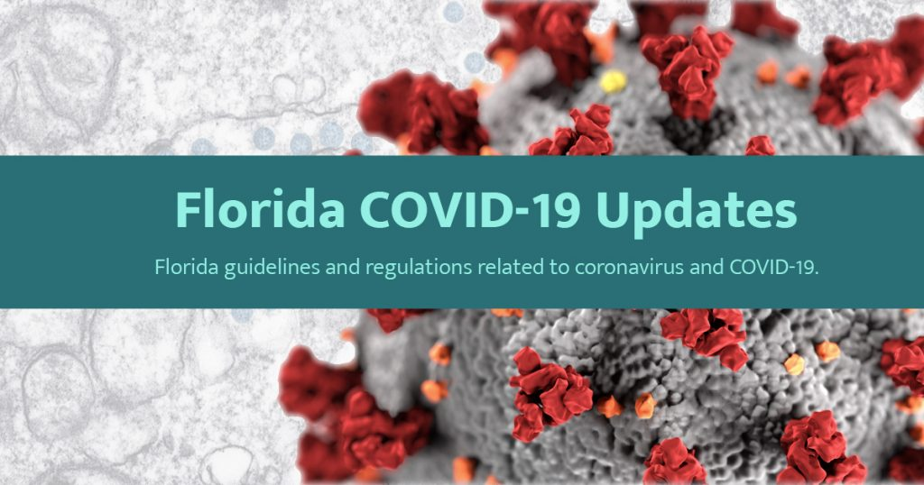COVID-19 Website for Florida