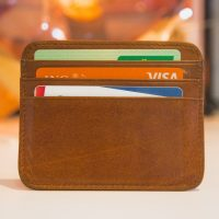 Photo of wallet with credit cards